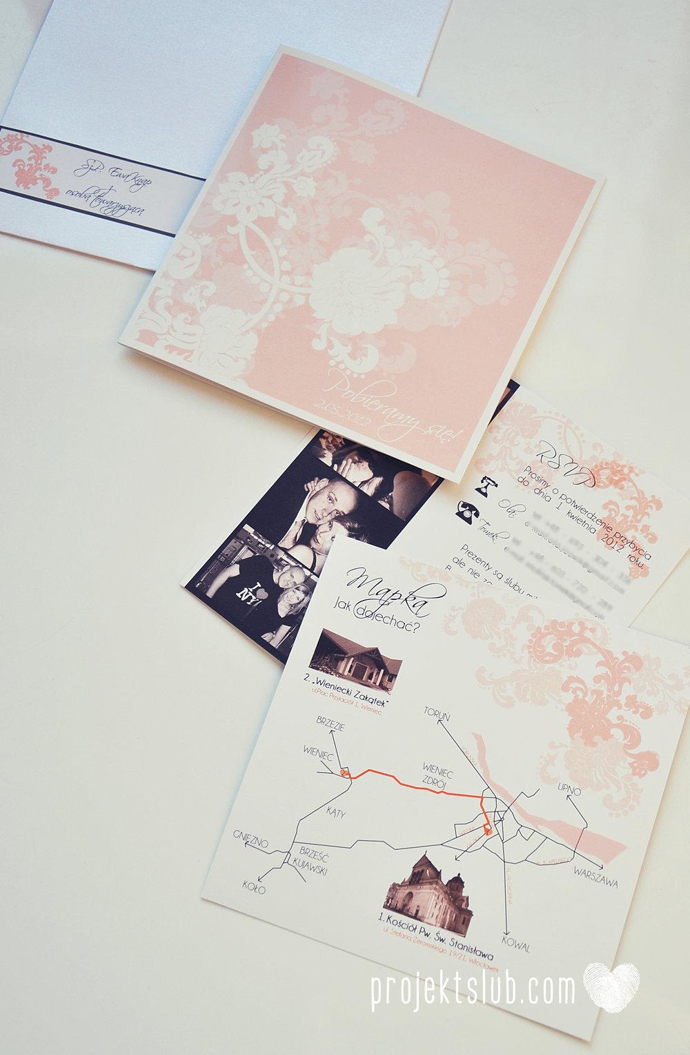 zaproszenia ślubne pudrowa elegancja róż pastele delikatne graficzne motywy klasyczny format projekt ślub (6).jpg