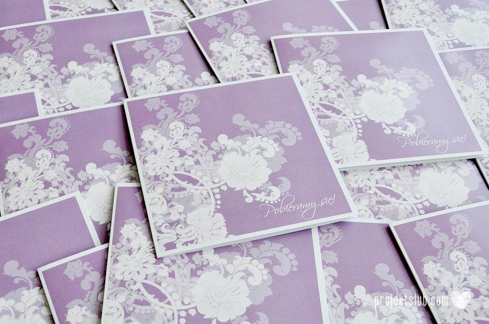 zaproszenia ślubne fioletowa elegancja pastele delikatne graficzne motywy klasyczny format projekt ślub (2).jpg