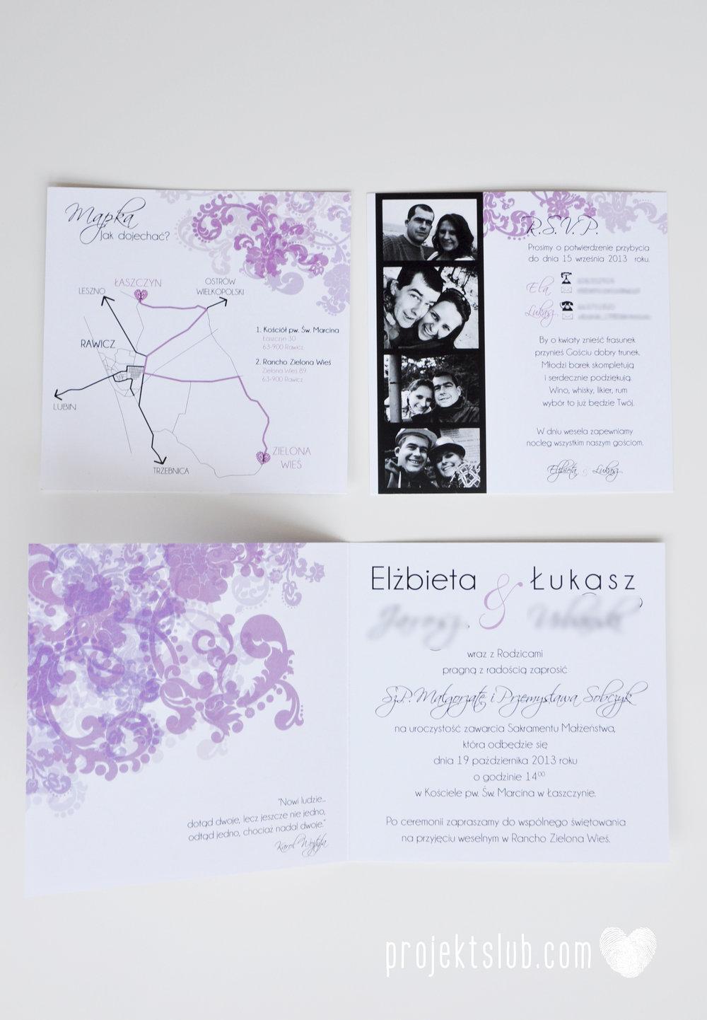 zaproszenia ślubne fioletowa elegancja pastele delikatne graficzne motywy klasyczny format projekt ślub (4).jpg