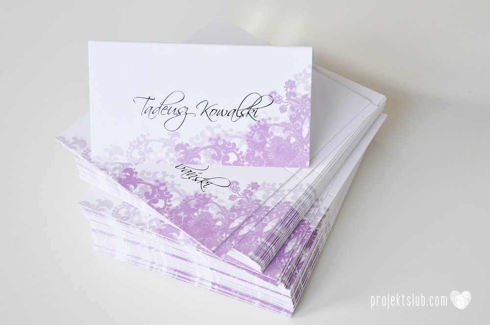 zaproszenia ślubne fioletowa elegancja pastele delikatne graficzne motywy klasyczny format projekt ślub (9).jpg