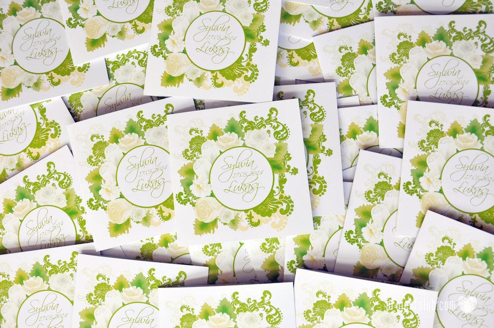 zaproszenia ślubne zielona elegancja pastele delikatne graficzne motywy klasyczny format projekt ślub (1).jpg