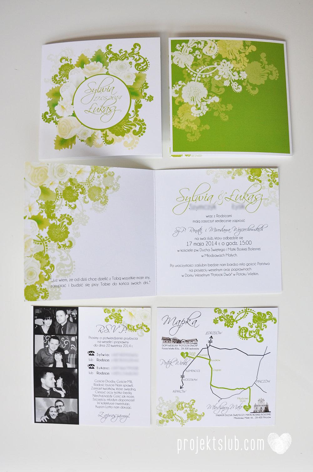 zaproszenia ślubne zielona elegancja pastele delikatne graficzne motywy klasyczny format projekt ślub (3).jpg