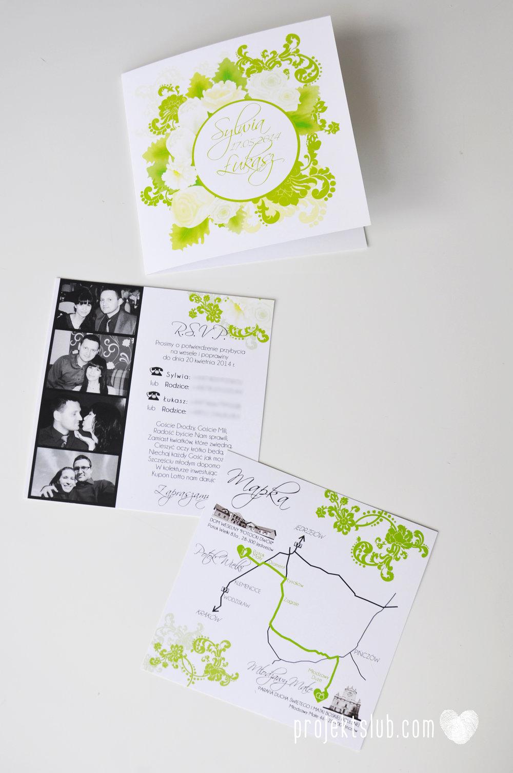 zaproszenia ślubne zielona elegancja pastele delikatne graficzne motywy klasyczny format projekt ślub (7).jpg
