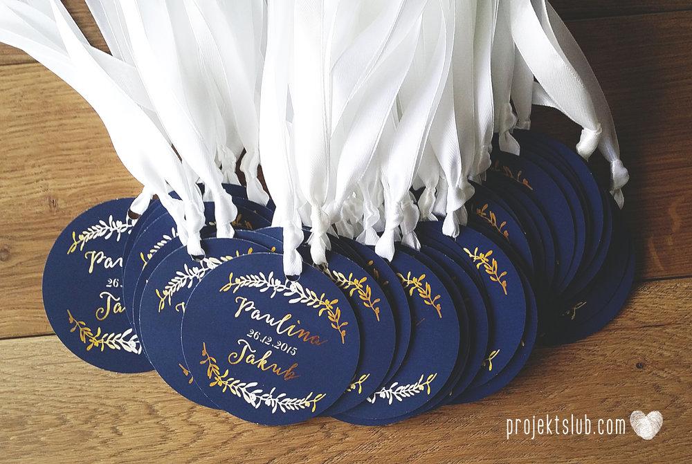 oryginalne zaproszenia ślubne eleganckie zimowe wesele boże narodzenie granatowe złote śnieżynki płatki śniegu biel glamour gwiazdki projekt ślub (9).jpg