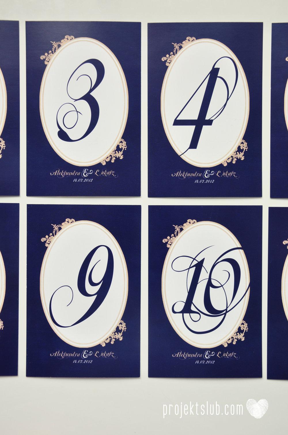 Klasyczne zaproszenie ślubne Granatowa Elegancja beżowa dodatki i dekoracje ślubne Projekt Ślub (18).jpg