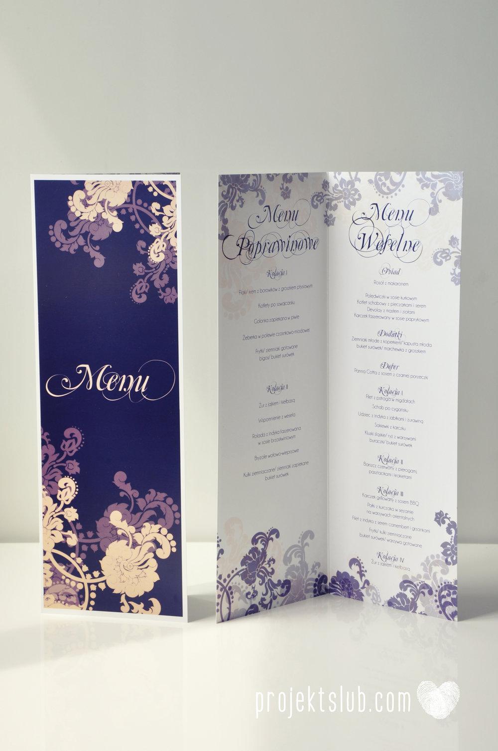 Klasyczne zaproszenie ślubne Granatowa Elegancja beżowa dodatki i dekoracje ślubne Projekt Ślub (32).jpg