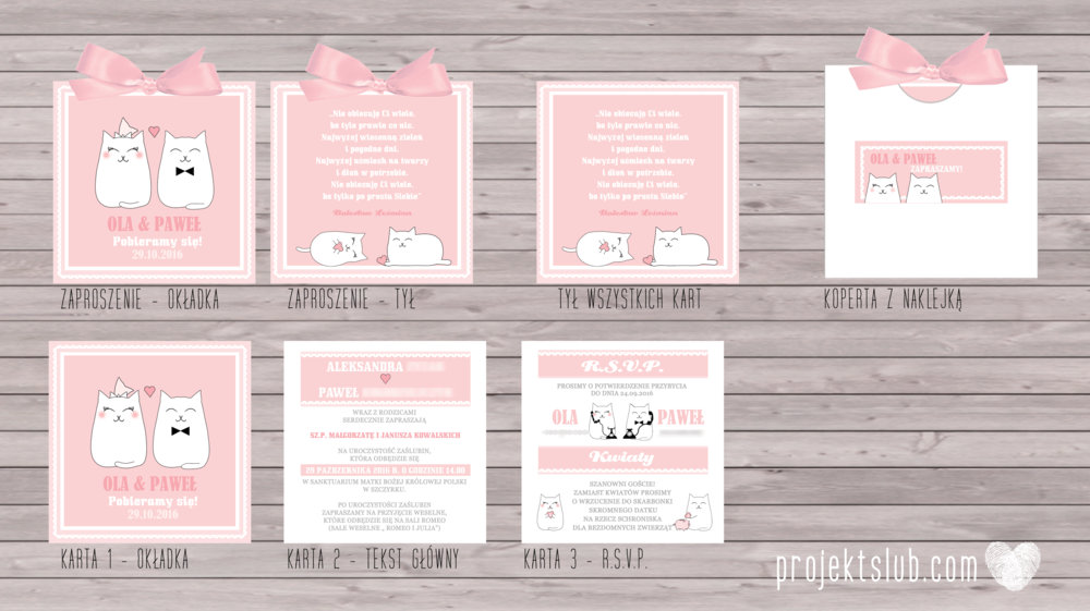 Zaproszenia-ślubne-koty oryginalne nietypow pudrowe słodkie urocze zabane kocia miłość zaproszenie z kotem projekt ślub.png