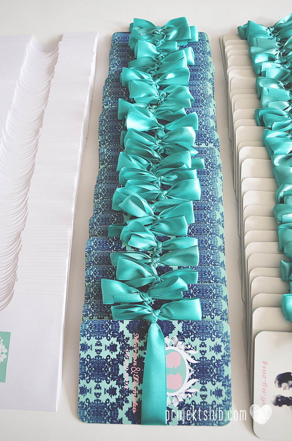 zaproszenia ślubne i dodatki weselne turkus mięta granat kamea piękne zaproszenia oryginalne nietypowe karty  elegancka oryginalna papeteria projekt ślub (3).jpg