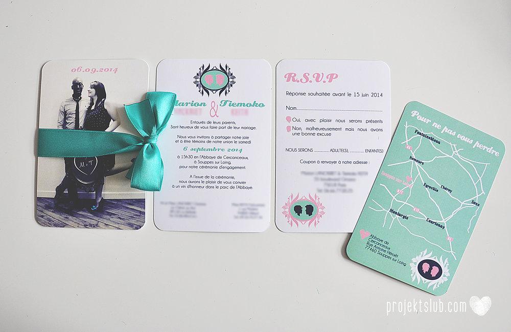 zaproszenia ślubne i dodatki weselne turkus mięta granat kamea piękne zaproszenia oryginalne nietypowe karty  elegancka oryginalna papeteria projekt ślub (9).jpg