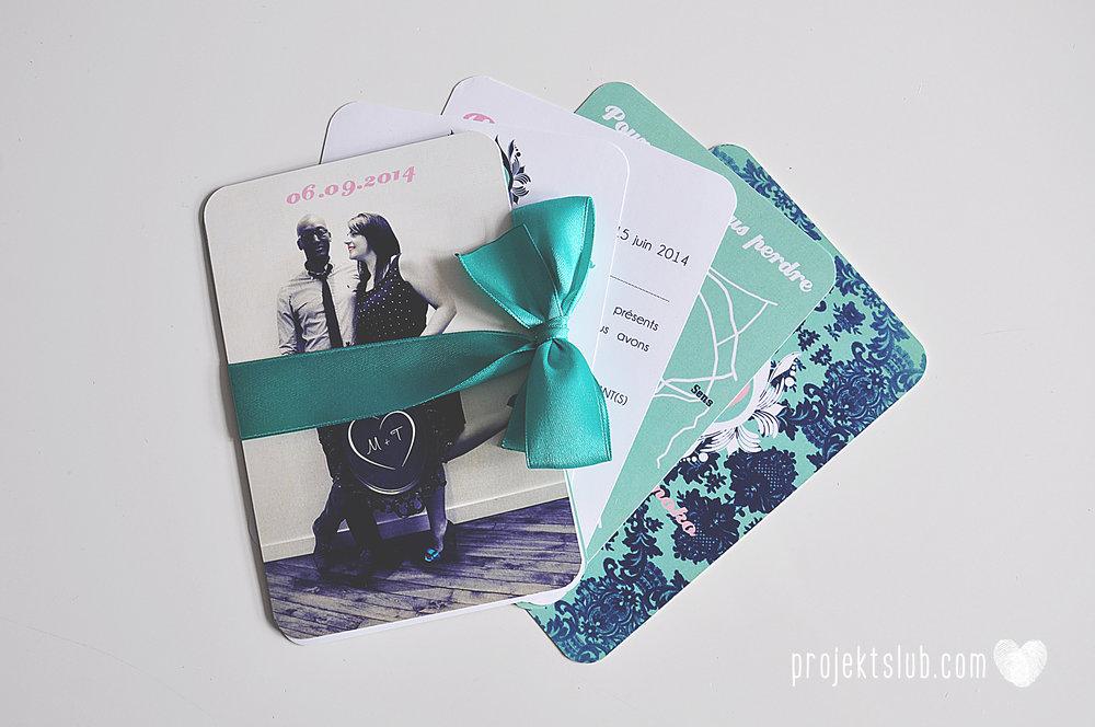 zaproszenia ślubne i dodatki weselne turkus mięta granat kamea piękne zaproszenia oryginalne nietypowe karty  elegancka oryginalna papeteria projekt ślub (10).jpg