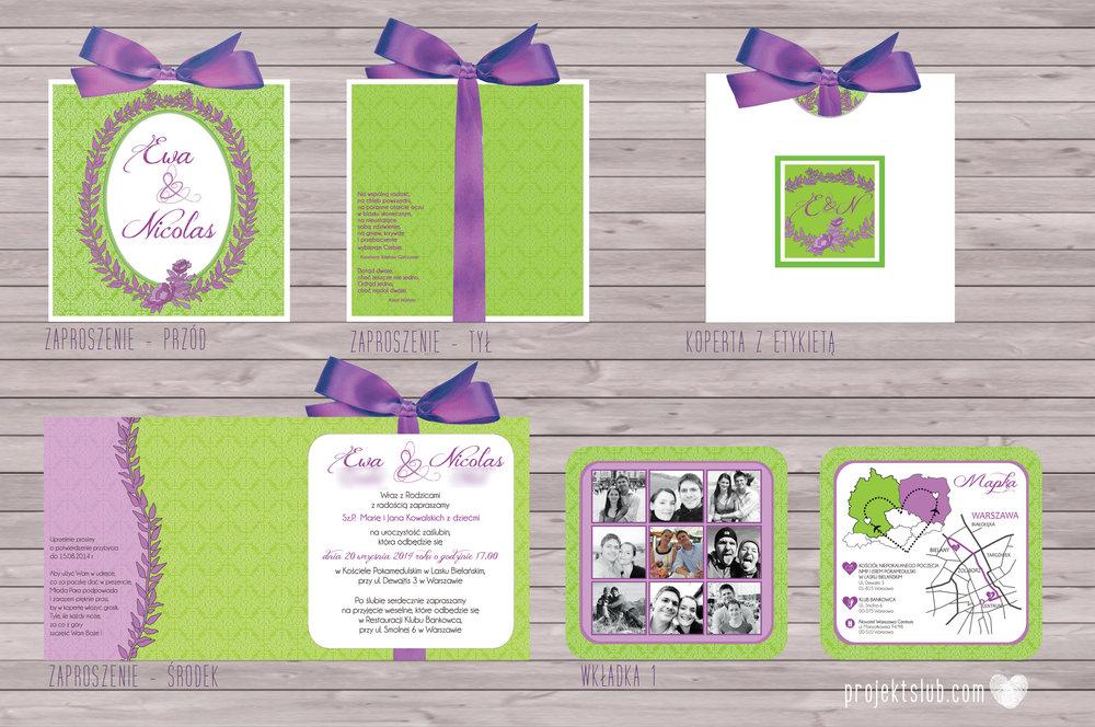 zaproszenia-ślubne-zaproszenia--eleganckie-zaproszenia-ze-wstążką-zielone-fioletowe--projekt-ślub copy.jpg