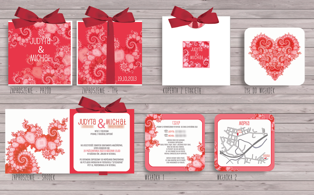 eleganckie-zaproszenia-ślubne-zaproszenia-ze-wstążlą-fraktale--czerwień-malinowy-projekt-ślub.png