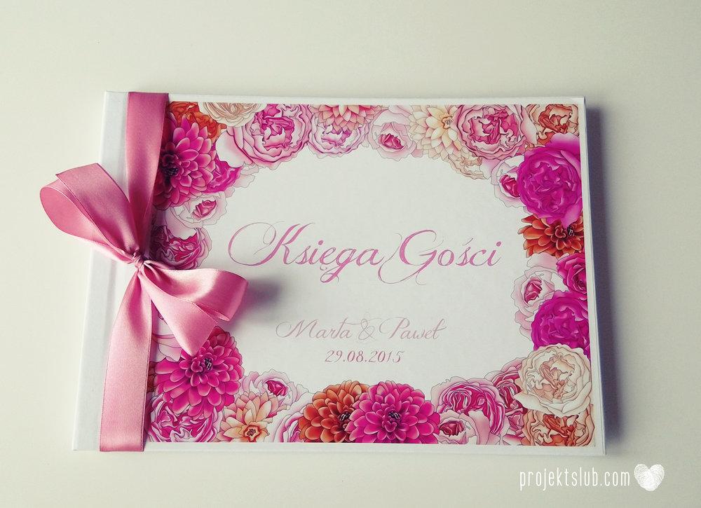 Zaproszenia+ślubne+z+motywem+kwiatów+eleganckie+z+kwiatami+fuksja+róż+pomarańcz+kwiaty+Projekt+Ślub+(31).jpg