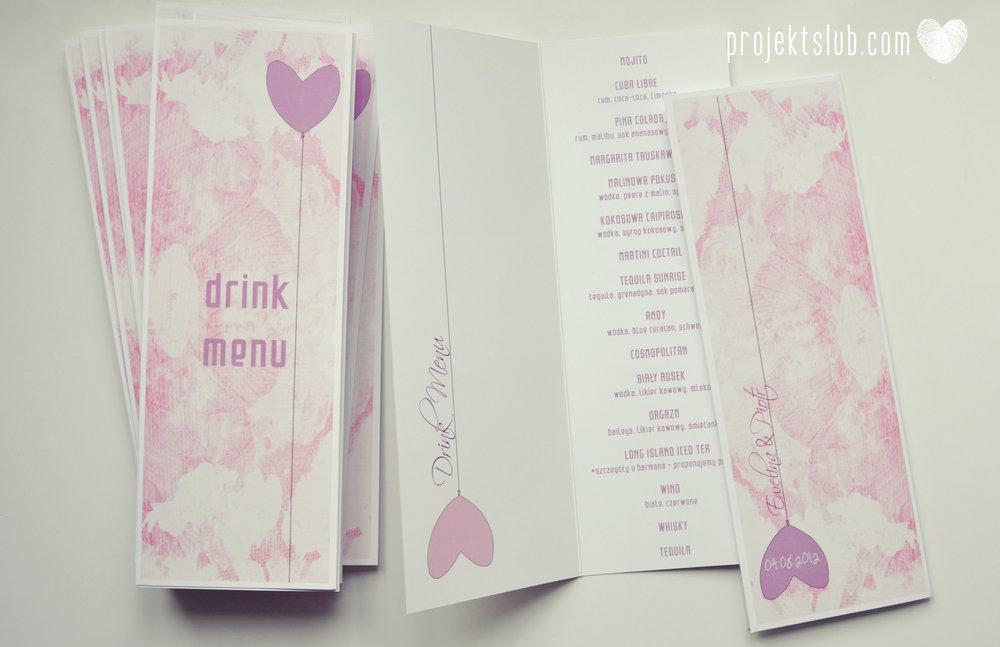 zaproszenie ślubne harmonijka Projekt ślub miłosny balon serce para w balonie ciepły fiolet pastelowy fiolet lila róż  (9).jpg