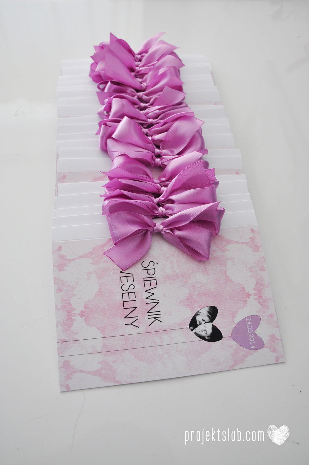zaproszenie ślubne harmonijka Projekt ślub miłosny balon serce para w balonie ciepły fiolet pastelowy fiolet lila róż  (1).JPG
