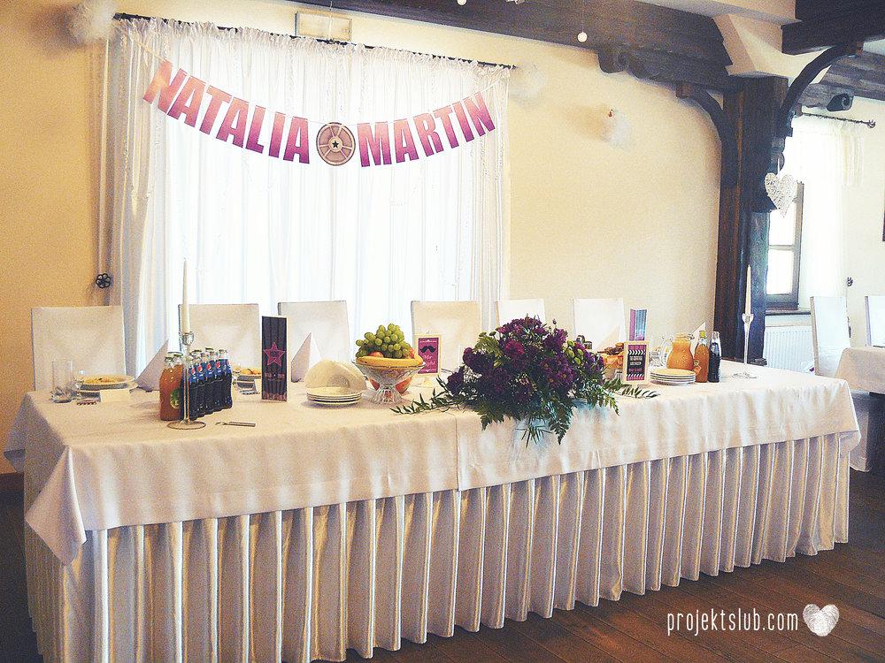 zaproszenie ślubne bilet filmowy bilet do kina premiera filmowa hollywood projekt ślub (1).JPG