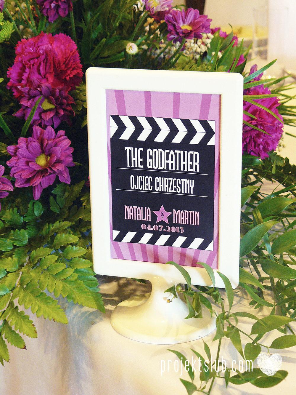 zaproszenie ślubne bilet filmowy bilet do kina premiera filmowa hollywood projekt ślub (35).JPG
