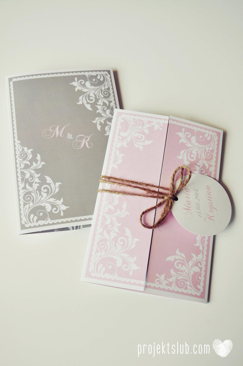 Zaproszenie ślubne oryginalne eleganckie duży format ołtarzykowe floral love rustykalne pastelove Projekt Ślub (4).JPG