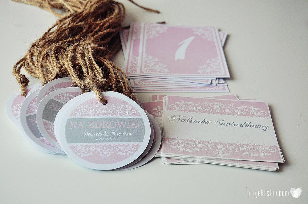 Zaproszenie ślubne oryginalne eleganckie duży format ołtarzykowe floral love rustykalne pastelove Projekt Ślub (8).JPG