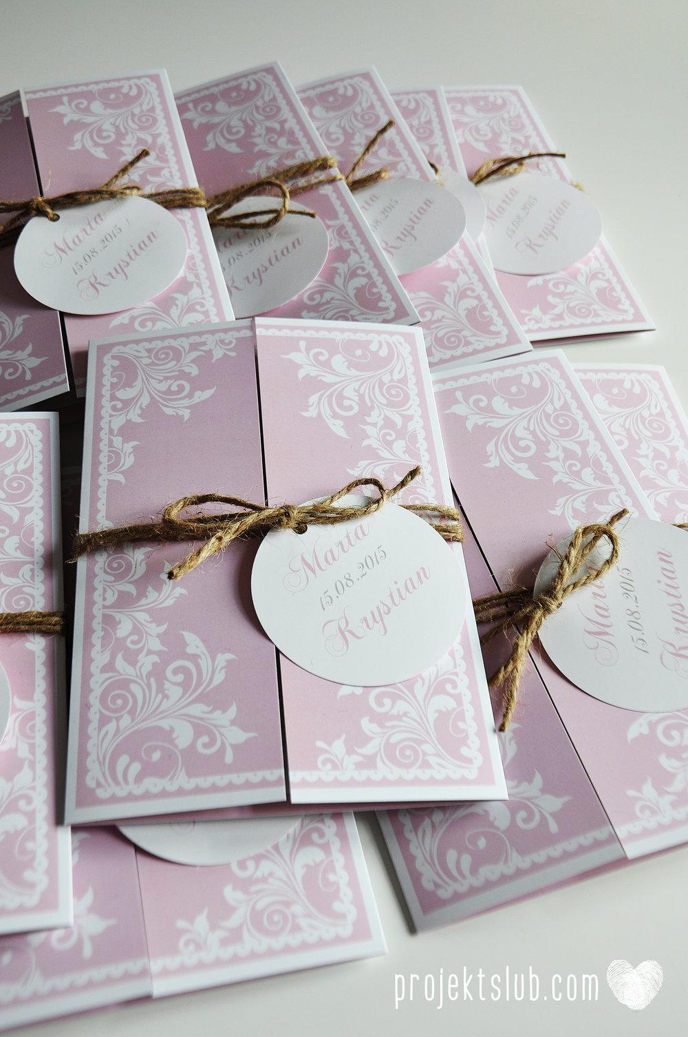 Zaproszenie ślubne oryginalne eleganckie duży format ołtarzykowe floral love rustykalne pastelove Projekt Ślub (12).JPG