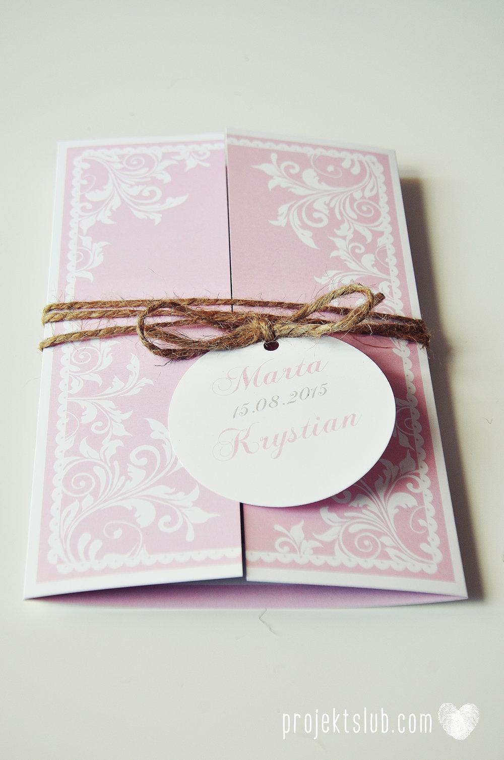 Zaproszenie ślubne oryginalne eleganckie duży format ołtarzykowe floral love rustykalne pastelove Projekt Ślub (1).jpg