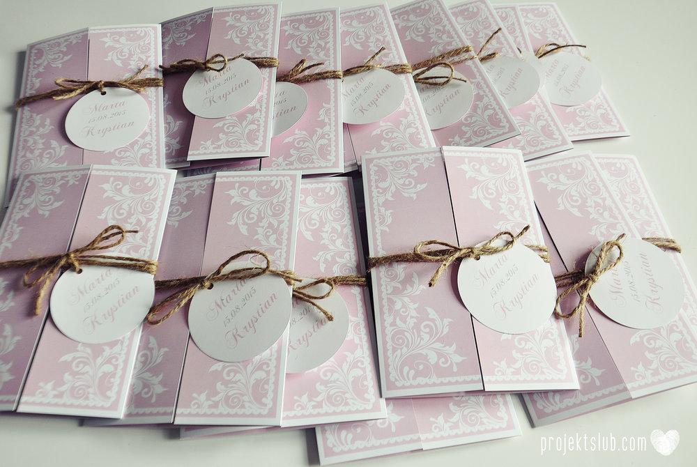Zaproszenie ślubne oryginalne eleganckie duży format ołtarzykowe floral love rustykalne pastelove Projekt Ślub (13).JPG