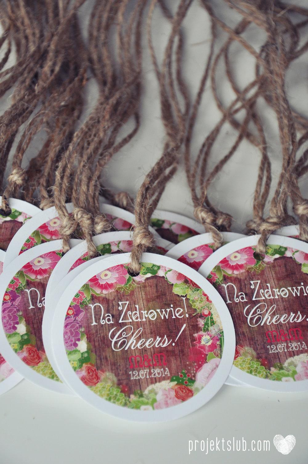 Zaproszenia ślubne wedding festival wianki kwiatowe drewno eko rustykalne boho kolorowe kwiaty festiwalowe wesele Projekt Ślub  (13).JPG