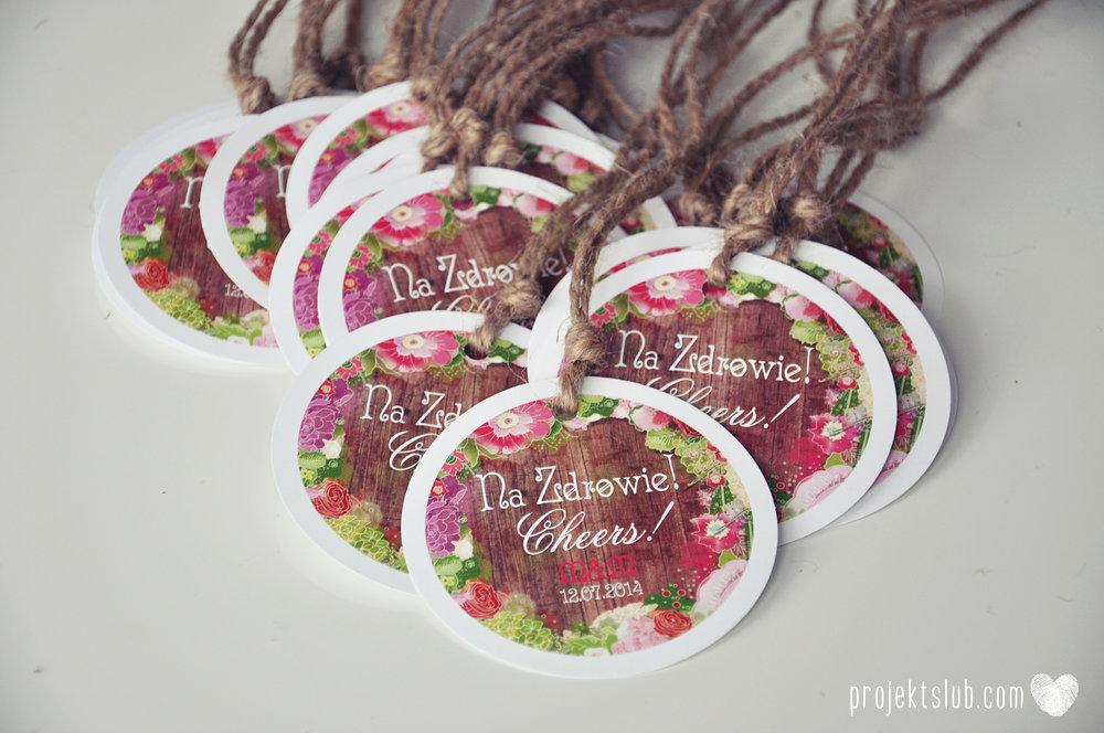 Zaproszenia ślubne wedding festival wianki kwiatowe drewno eko rustykalne boho kolorowe kwiaty festiwalowe wesele Projekt Ślub  (14).JPG