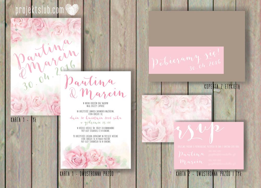 Zaproszenia-ślubne-oryginalne-AKWARELOVE--akwarela-malowane-kwiaty-romantyczne-boho-RÓŻE-pastelowy-róż-Projekt-Ślub.png