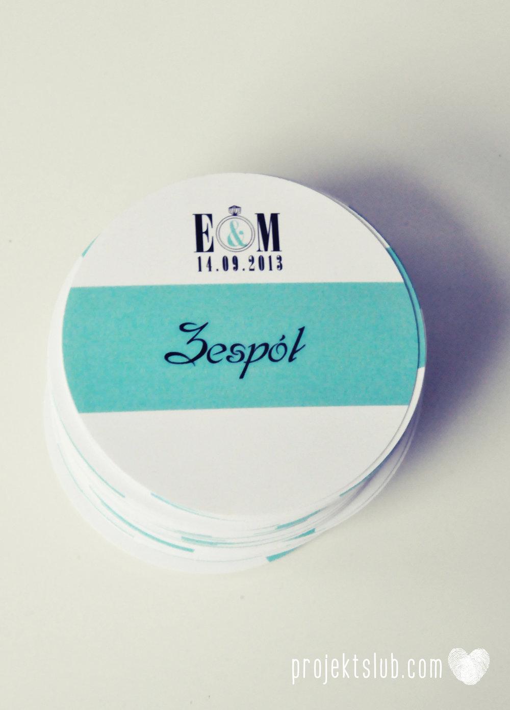 zaproszenia ślubne fashionelki wieża eiffel paryż piktogramy elegancki minimalizm błękit kolor tiffany zdjęcie narzeczonych Projekt Ślub (11).JPG