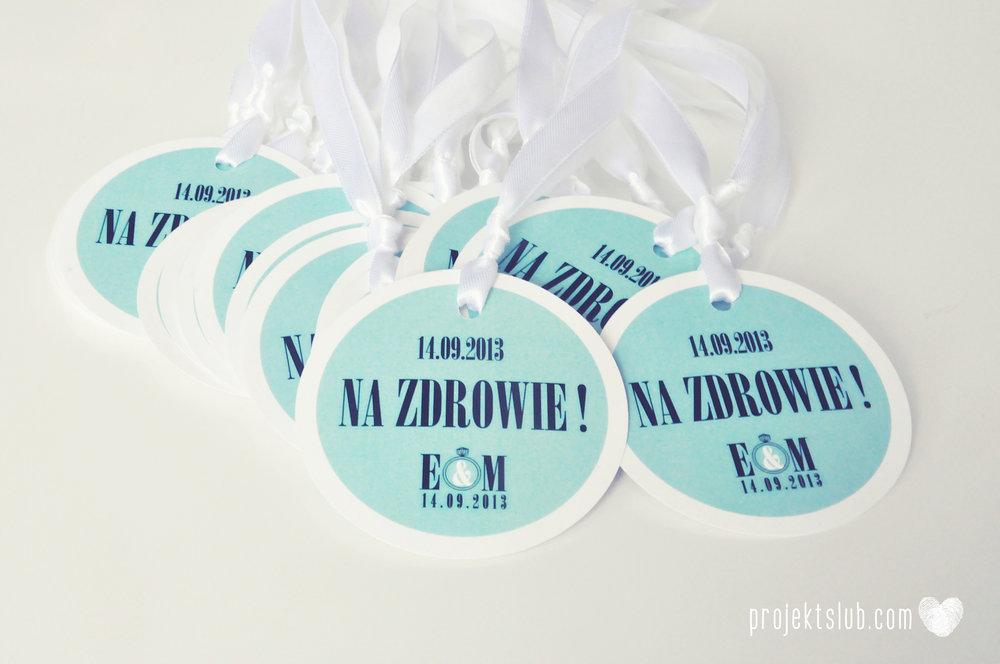 zaproszenia ślubne fashionelki wieża eiffel paryż piktogramy elegancki minimalizm błękit kolor tiffany zdjęcie narzeczonych Projekt Ślub (10).JPG