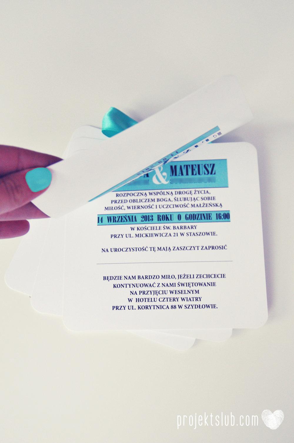 zaproszenia ślubne fashionelki wieża eiffel paryż piktogramy elegancki minimalizm błękit kolor tiffany zdjęcie narzeczonych Projekt Ślub (24).JPG