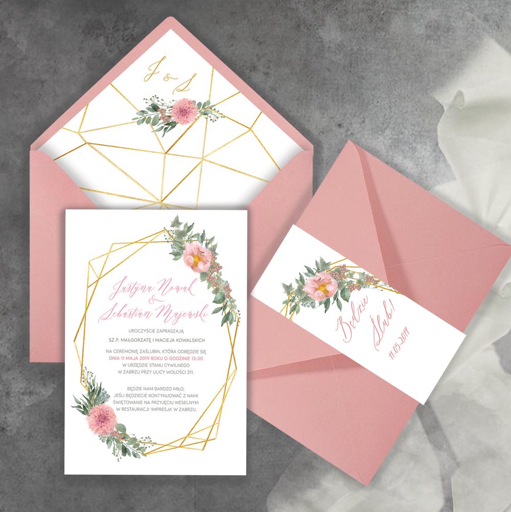 Bardzo dobra Zaproszenia ślubne i dodatki weselne SM96