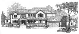 HAWTHORNE 4061   4061 Square Feet  4 Bedrooms – 4.5 Baths  117' Wide – 66' Deep  Covered porch and deck, loft