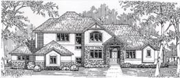 SUSSEX 3521 3521 Square Feet 5 Bedrooms – 4.5 Baths 93' Wide – 57' Deep Open plan for a large family
