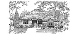 CLAIREMONT 1873 1873 ML + 1524 LL = 3397 Total Square Feet 1 or 2 ML + 2 LL Bedrooms – 1.5 or 2.5 ML + 1 LL Bath 49' Wide – 66' Deep Ideal for narrow and deep lots, side entry garage