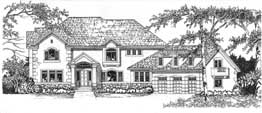 HAMPTON 4822 4822 Square Feet 4 Bedrooms - 3.5 Baths 99' Wide - 78' Deep Great plan for corner views, living room, bonus room over garage, back stair