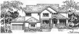 STRATFORD 3386 3386 Square Feet 4 Bedrooms - 3.5 Baths 78' Wide - 55' Deep Economical and most popular plan, back stair