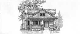 WILLOUGHBY 3199   3199 Square Feet  3 Bedrooms - 2.5 Baths  34' Wide - 86' Deep  Narrow plan for an urban site, covered porch and patio or deck