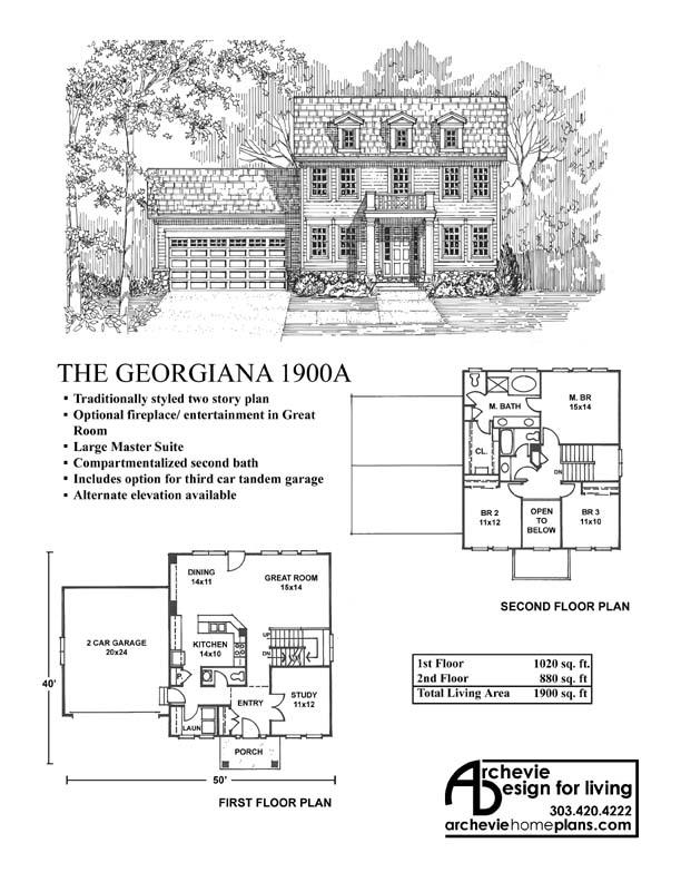 Georgiana 1900 archevie design for Georgiana design