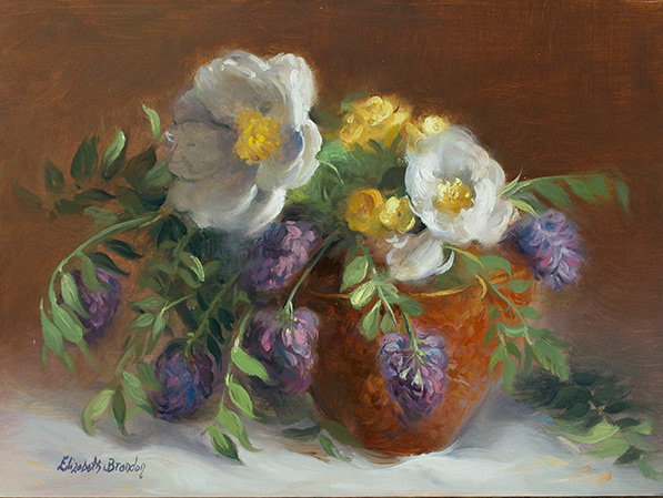 Peonies and Hyacinths