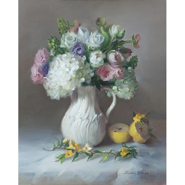 An Arrangement in White