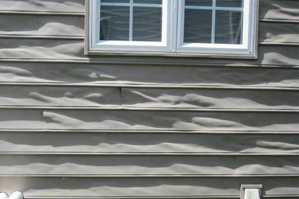Help! My New Vinyl Siding is Warping — O'Donnell Bros Inc