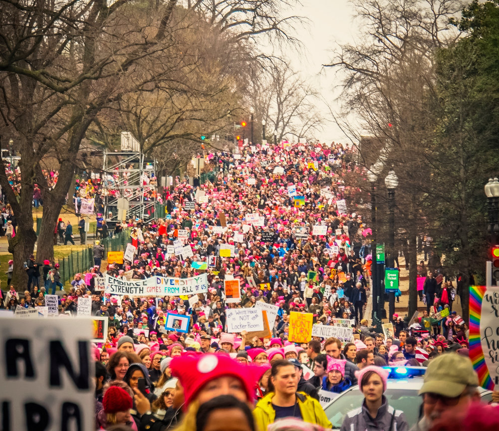 Women's March in Washington D.C., January 21, 2017. Photo by Ted Eytan.