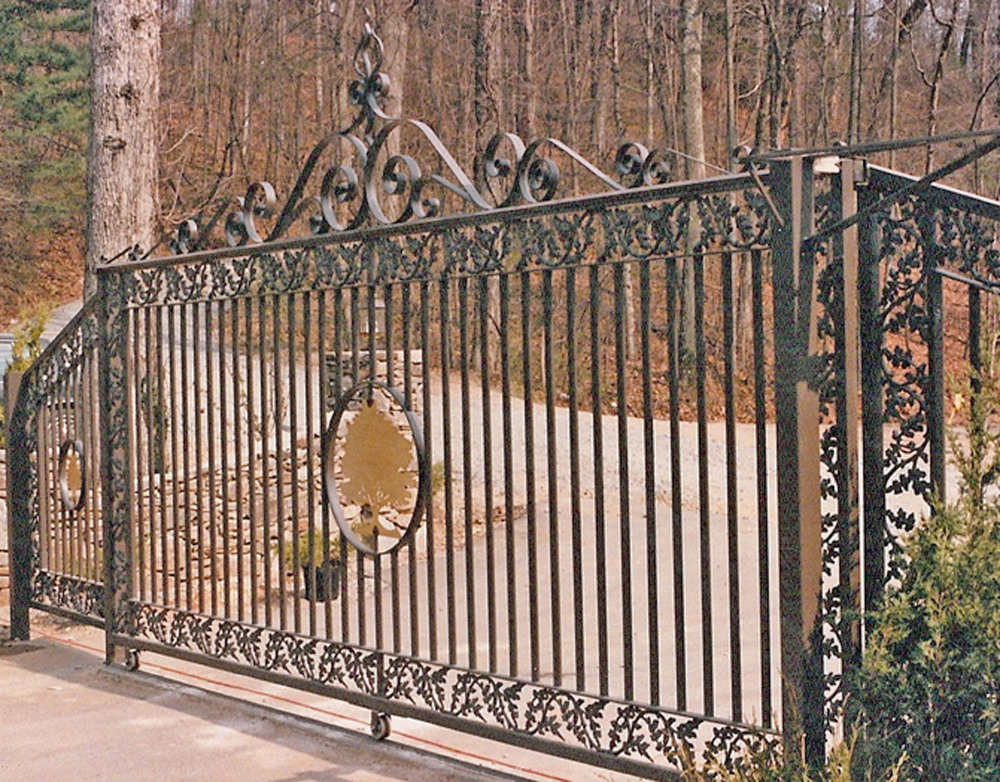 Sliding Gate for Gated Community  18 feet with two six foot wings
