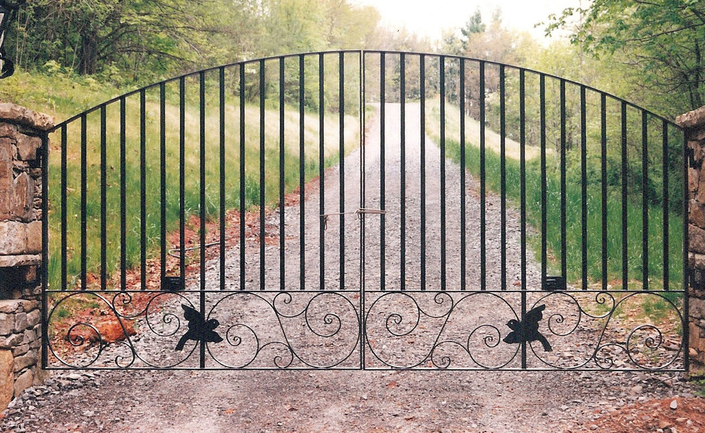 Driveway Gate 18 feet wide by six feet tall