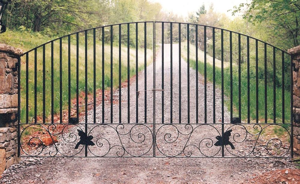 Driveway Gate 18 feet wide by six feet tall