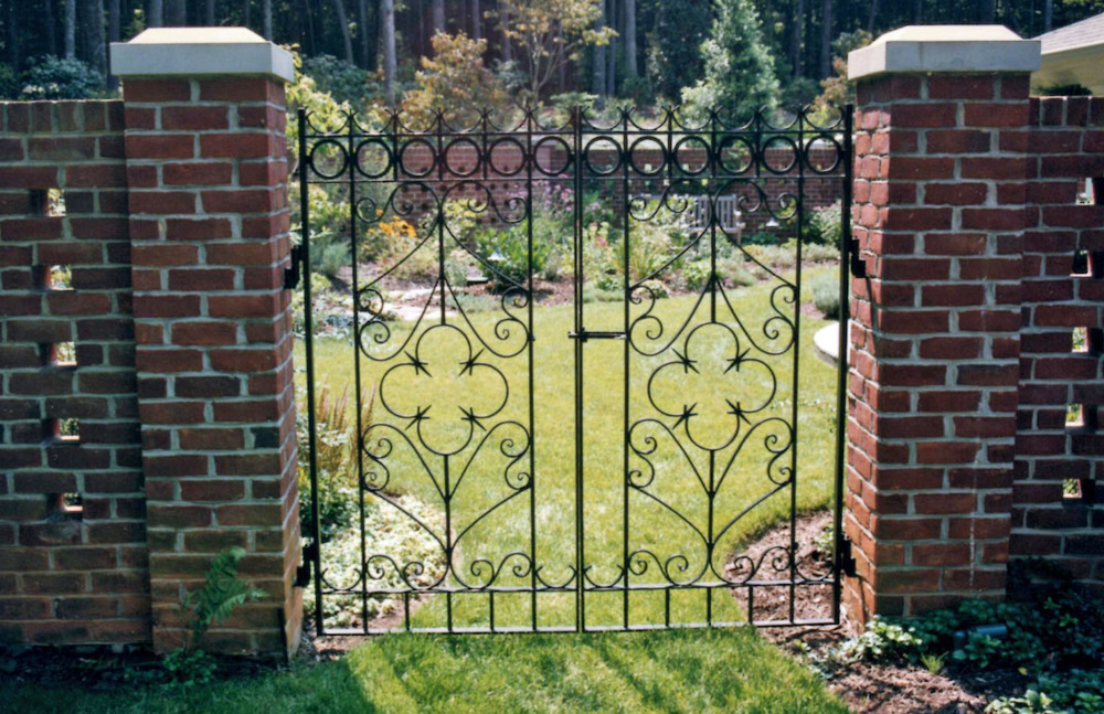 Hand Forged Walk Gate