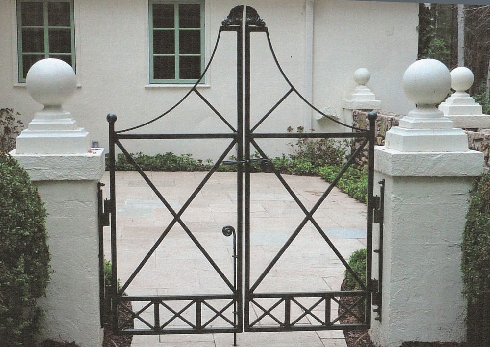 Front Entry Walk Gate