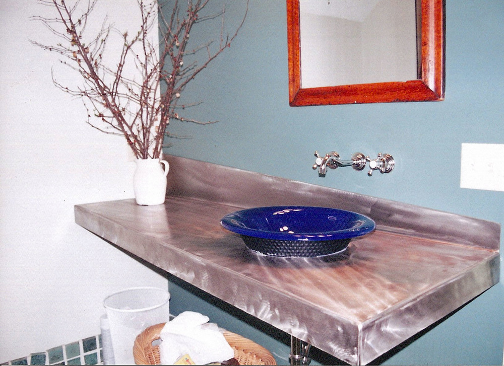 Stainless Steel Vanity Countertop